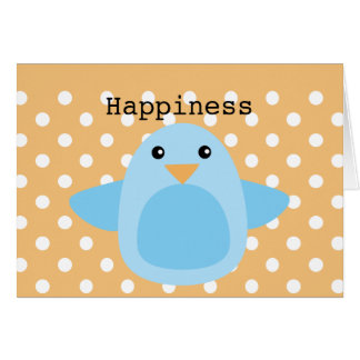Happy as a Bluebird Greeting Cards