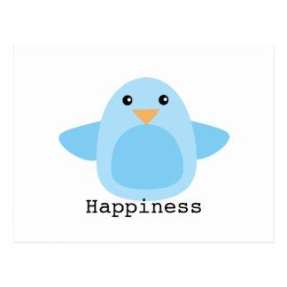 Happy as a Bluebird Post Card