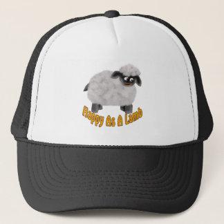 Happy As A Lamb Trucker Hat
