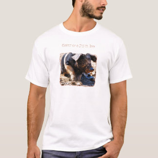 Happy as a Pig in Mud T-Shirt