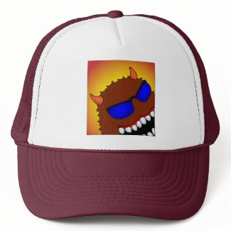 HAPPY AS HELL hat