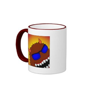 HAPPY AS HELL mug
