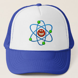 Happy Atom Trucker Hat