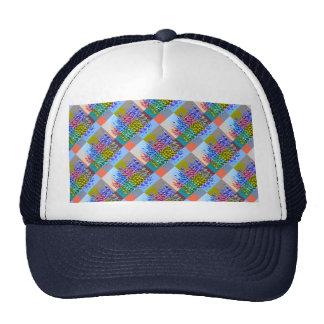 Happy AURA Graphics : Silken Jewel Moziac Trucker Hats