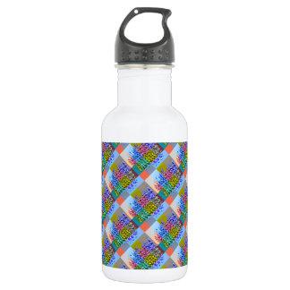 Happy AURA Graphics : Silken Jewel Moziac Water Bottle
