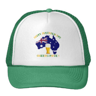 Happy Australia Day Trucker Hat
