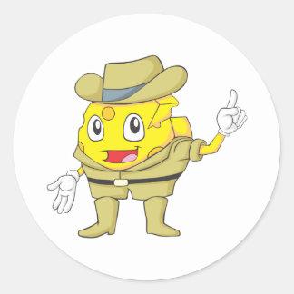 Happy Australian Cheese Sticker