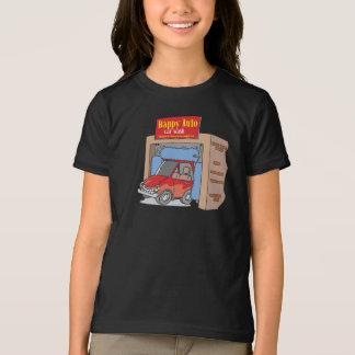 Happy Auto Car Wash Girls T-Shirt
