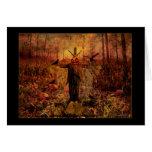 Happy Autumn - Harvest Scarecrow Greeting Cards