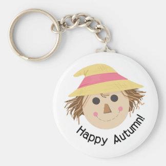 Happy Autumn Keychain