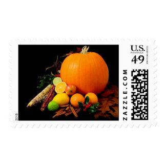 Happy Autumn! Postage Stamp