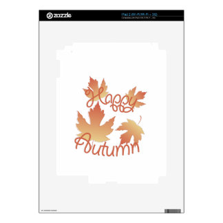 Happy Autumn Skin For The iPad 2
