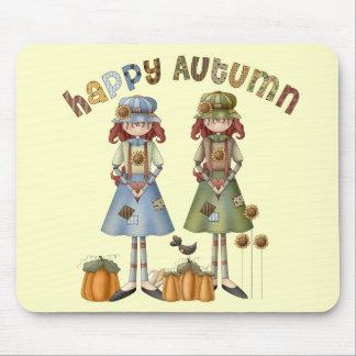 Happy Autumn Thanksgiving Mousepad