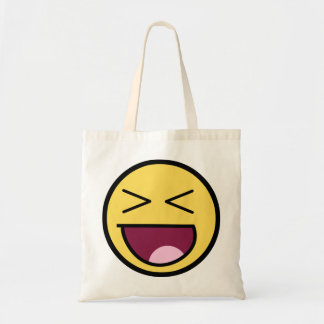 Happy Awesome Face Bag
