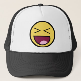 Happy Awesome Face Hat