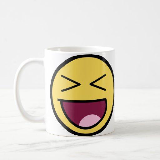 Happy Awesome Face Mug
