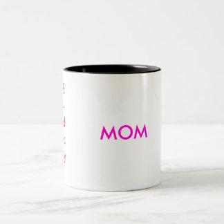 Happy, B-day, MOM Two-Tone Coffee Mug