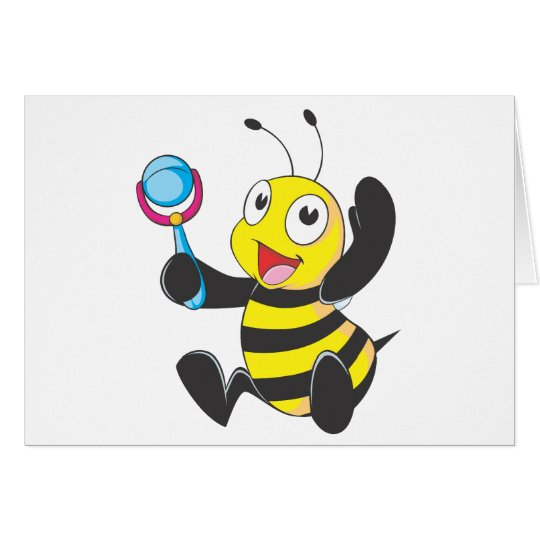Happy Baby Bee Card