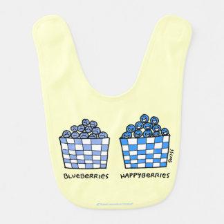Happy Baby Blueberries Happyberries Bib