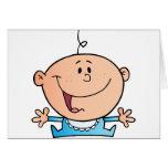 Happy Baby Boy Greeting Card