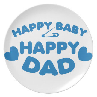 HAPPY baby Happy DADDY Plate