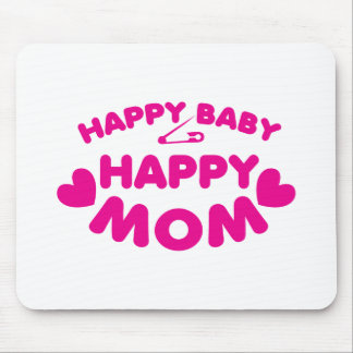 Happy baby Happy mom Mouse Pad