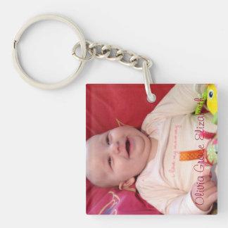Happy Baby Keychain