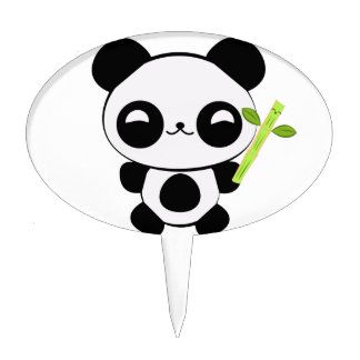 Happy Baby Panda Cake Topper