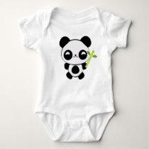 Happy Baby Panda Infant Creeper