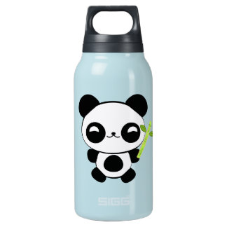 Happy Baby Panda Insulated Water Bottle