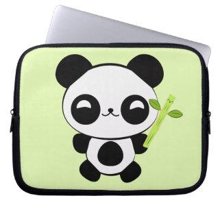 Happy Baby Panda Laptop Sleeve