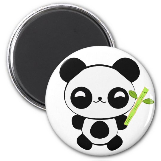 Happy Baby Panda Magnet