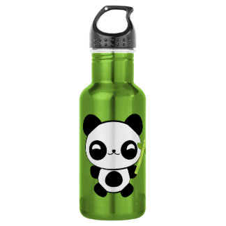Happy Baby Panda Stainless Steel Water Bottle