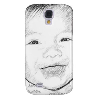 Happy Baby Smiling Galaxy S4 Covers