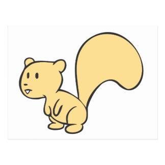 Happy Baby Squirrel Postcard