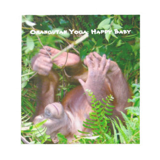 Happy Baby Wildlife Yoga Memo Note Pads