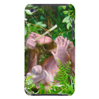 Happy Baby Yoga Pose Orangutan Case-Mate iPod Touch Case