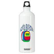 Happy Back to go school Water Bottle