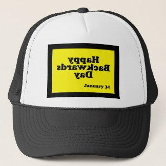 Happy Backwards Day Hat ~ January 31