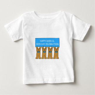 Happy Baek-il 100th Day Celebration Baby T-Shirt