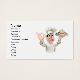 Happy baker business card
