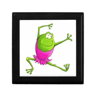 Happy Ballerina Frog Jewelry Box