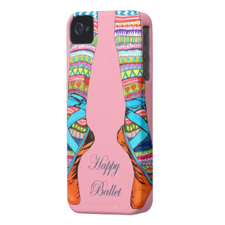 HAPPY BALLET Case-Mate iPhone 4 CASE