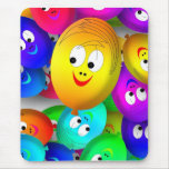 happy balloons mouse pad