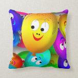 happy balloons pillow