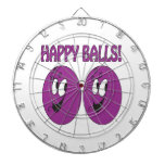 Happy Balls Dart Board