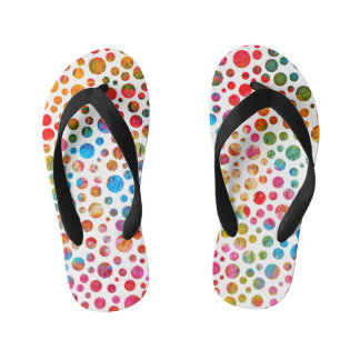 Happy Balls - Flip Flops Colored Dots For Kids