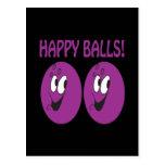 Happy Balls Postcard