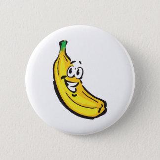 happy banana button