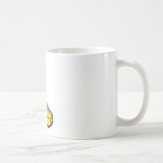 happy banana coffee mug